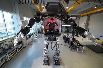 TOPSHOT-SKOREA-TECHNOLOGY-ROBOT