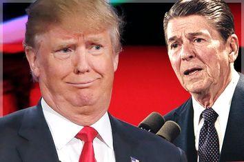 Donald Trump; Ronald Reagan