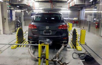 Volkswagen in factory