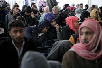 APTOPIX Trump Refugees