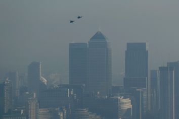 Britain Pollution