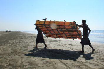 Myanmar Rohingya Fishermen