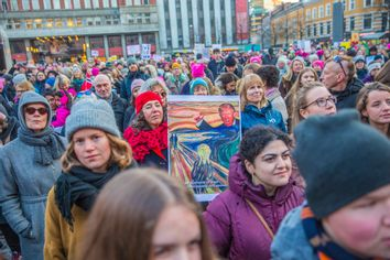 Sweden Trump Women's March