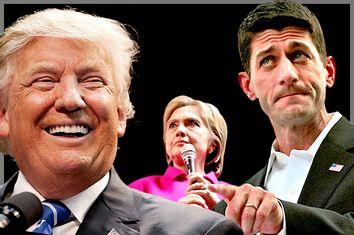Donald Trump; Hillary Clinton; Paul Ryan
