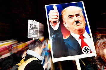 Donald Trump Hitler Sign