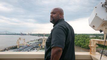 Captain Jared Austin on the Mississippi River
