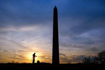 APTOPIX Washington Monument