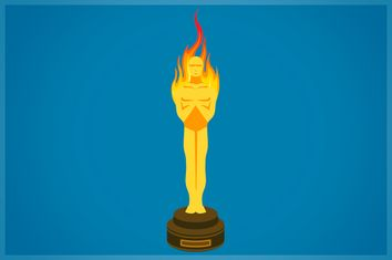 Oscar on Fire