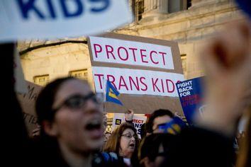 Transgender rights activists