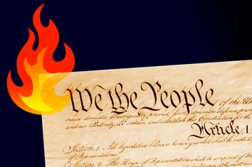 Constitution on Fire