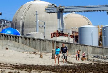 Nuclear Plant Closed