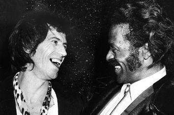 Keith Richards, Chuck Berry