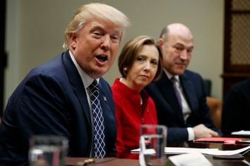 Donald Trump, Gary Cohn, Dorothy Savarese