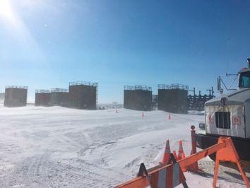 Alaska Gas Leak