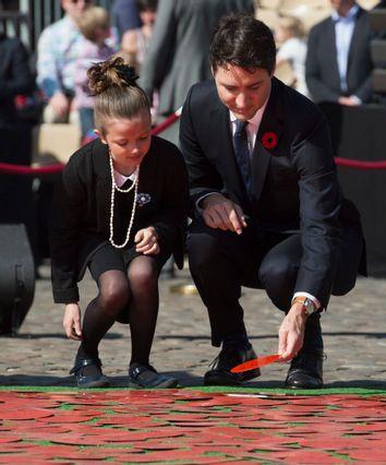 Justin Trudeau Alizeas Dinanceau