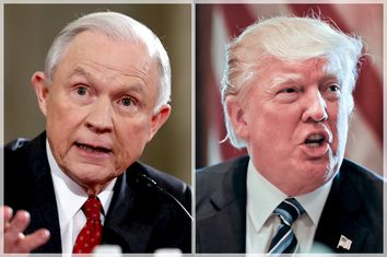 Jeff Sessions; Donald Trump