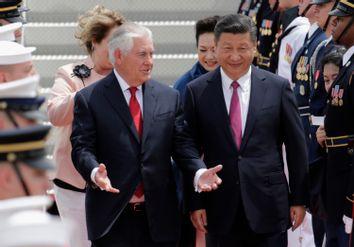 Xi Jinping, Rex Tillerson