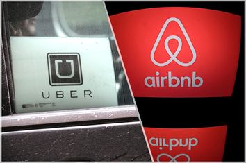 Uber; Airbnb