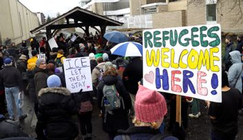 Immigration Rally Portland