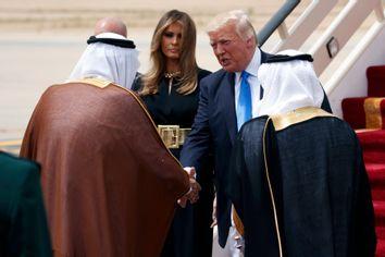 Donald Trump, Melania Trump, Salman