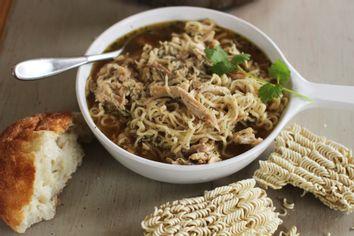 Food Deadline Chicken Ramen Soup