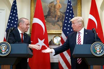 Donald Trump; Recep Tayyip Erdogan