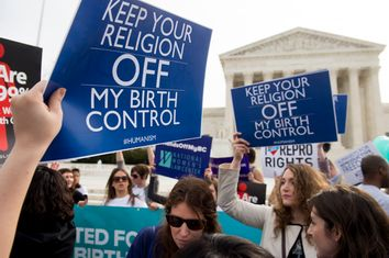 Birth Control Protest