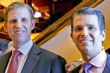 Eric Trump; Donald Trump Jr.
