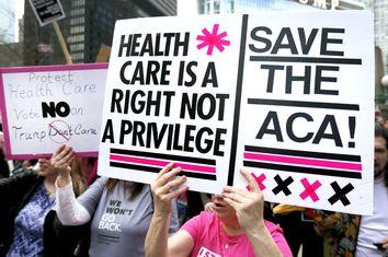 Health Overhaul Protest