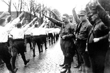 Germany Adolf Hitler Troop Review