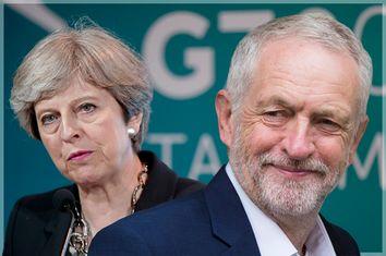 Theresa May; Jeremy Corbyn