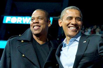 Jay-Z; Barack Obama