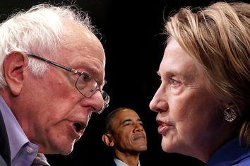 Bernie Sanders; Barack Obama; Hillary Clinton