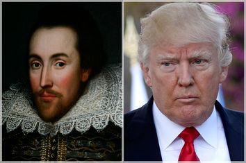 William Shakespeare; Donald Trump