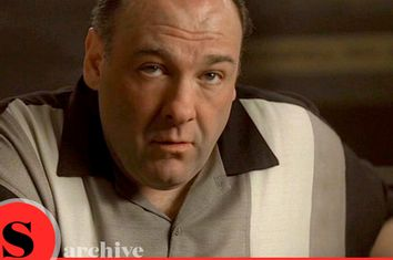 James Gandolfini as Tony Soprano in