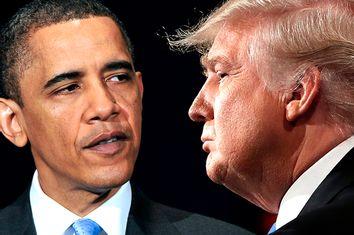 Barack Obama; Donald Trump
