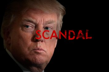 Trump as Scandal Poster
