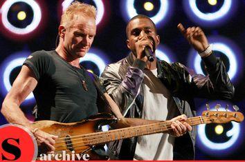 Sting; Kanye West