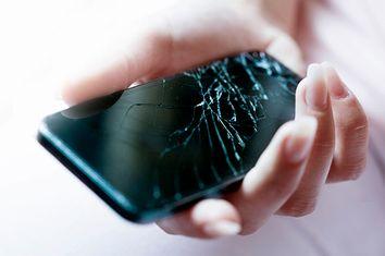 phone, cracked, broken, repair