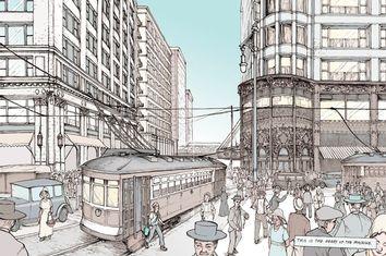 No Small Plans: A graphic novel adventure through Chicago