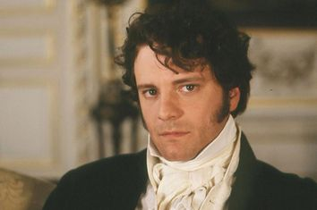 Colin Firth as Mr. Darcy in