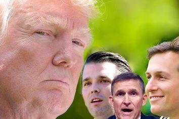 Donald Trump; Donald Trump Jr; Michael Flynn; Jared Kushner