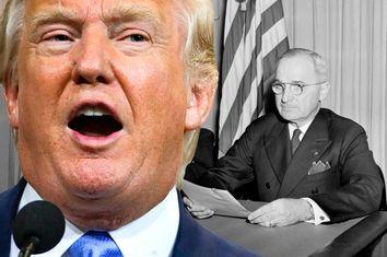 Donald Trump; Harry Truman