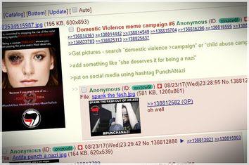 4Chan; Fake Antifa