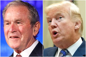 George W. Bush; Donald Trump