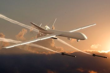 Unmanned Aerial Vehicle (drone) attack