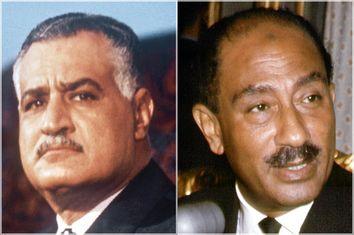 Gamal Abdel Nasser; Anwar el-Sadat