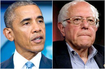 Barack Obama; Bernie Sanders