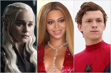 Game of Thrones; Beyonce; Spiderman