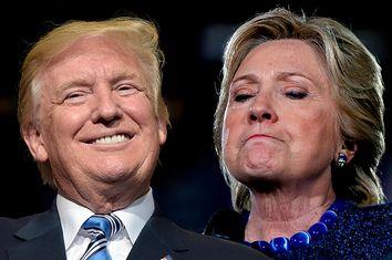 Donald Trump; Hillary Clinton